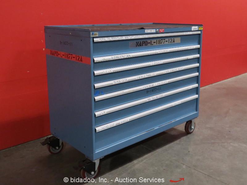 lista 7 drawer tool cabinet shop equipment storage box portable bidadoo ebay. Black Bedroom Furniture Sets. Home Design Ideas