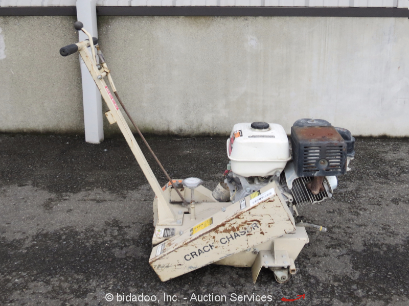 Edco c10 crack chaser repair ground saw 8 blade capacity for Honda gx390 oil capacity
