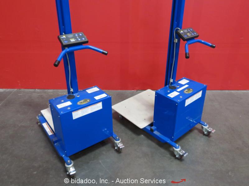 Ergonomic Portable Lifts : Lot of vestil pel portable electric ergonomic