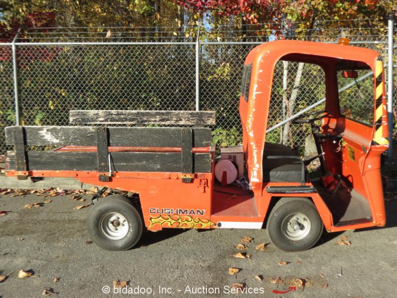 Cushman 898315 36v Electric Industrial Golf Cart Utility