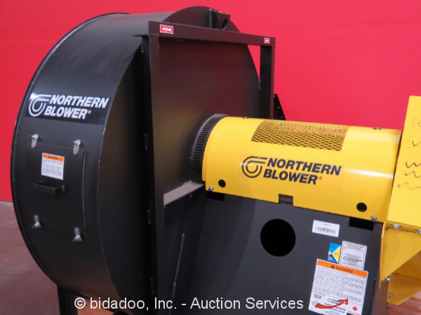 Industrial Air Movers : Northern blower commercial fan industrial air