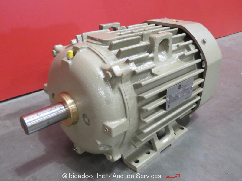 Ge General Electric 5ks215xaa208d1 Industrial Motor 10 Hp