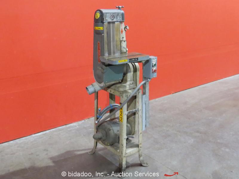 Delta Rockwell 6 Quot Industrial Belt Sander W Stand Adjustable Table 3ph Bidadoo Ebay