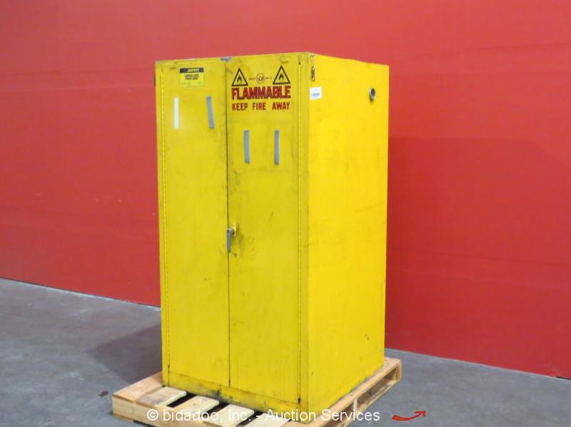 Justrite 60 Gallon Flammable Liquid Safety Storage Cabinet