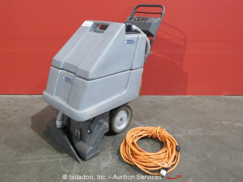 Nilfisk advance aquaclean 18 carpet extractor scrubber floor cleaner bidadoo - Advance carpet extractor ...