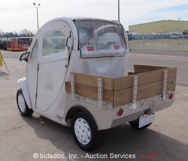 Gem e825 72v electric utility golf cart nev vehicle for Golf cart garage door prices