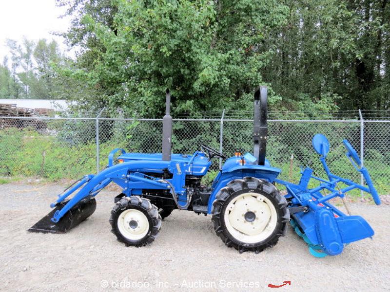 Iseki Diesel Tractor : Iseki ts ag farm tractor wd spd diesel pto quot rear