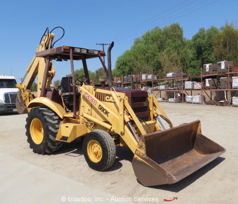 1989 Case 580k Backhoe Parts : Case k backhoe hydraulic pump location super e