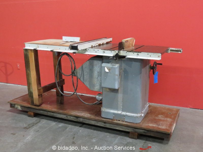 Rockwell Delta 10 Unisaw Right Tilt Table Saw 3 Hp Biesemeyer Fence Ebay