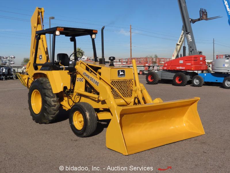 John Deere Backhoe Wheels : John deere c backhoe wheel loader tractor diesel