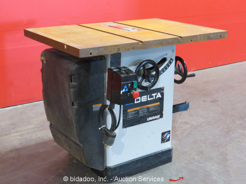 """Delta Unisaw 36-869 Industrial Table Saw 10"""" Blade ..."""