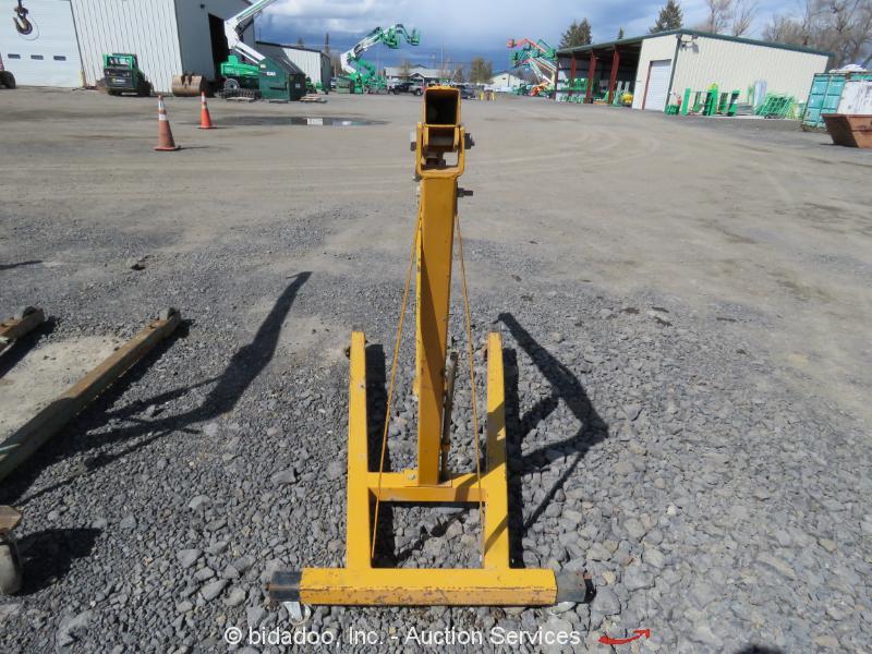 Cherry Picker Jack Parts : Jet jhc c hydraulic crane engine hoist cherrypicker