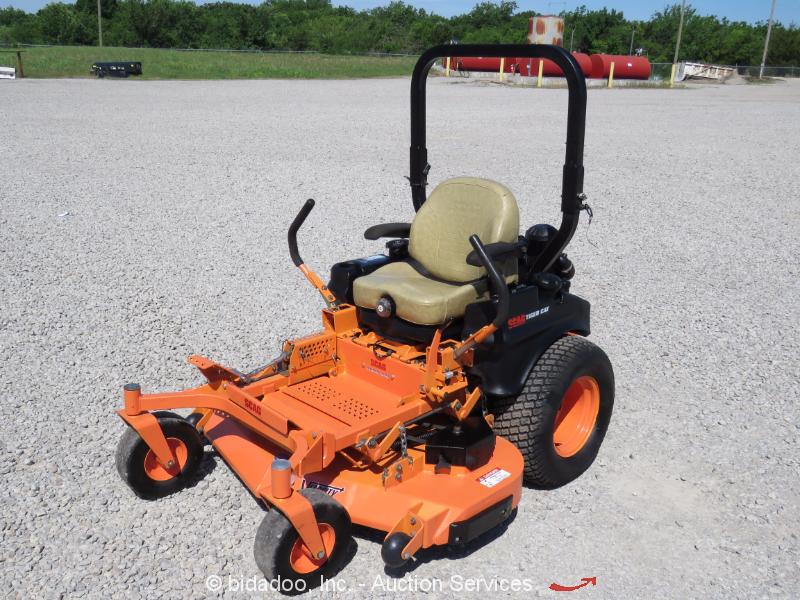 Riding Lawn Mower Paint : Scag stc v fx  tiger cat riding mower zero turn