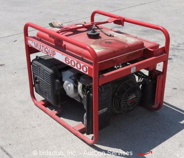 Multiquip MQ GA-6HA 6,000W 120/240 Portable Generator