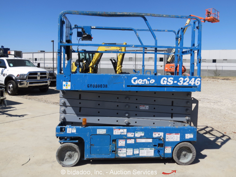 2008 Genie Gs3246 32 Electric Scissor Lift Man Lift