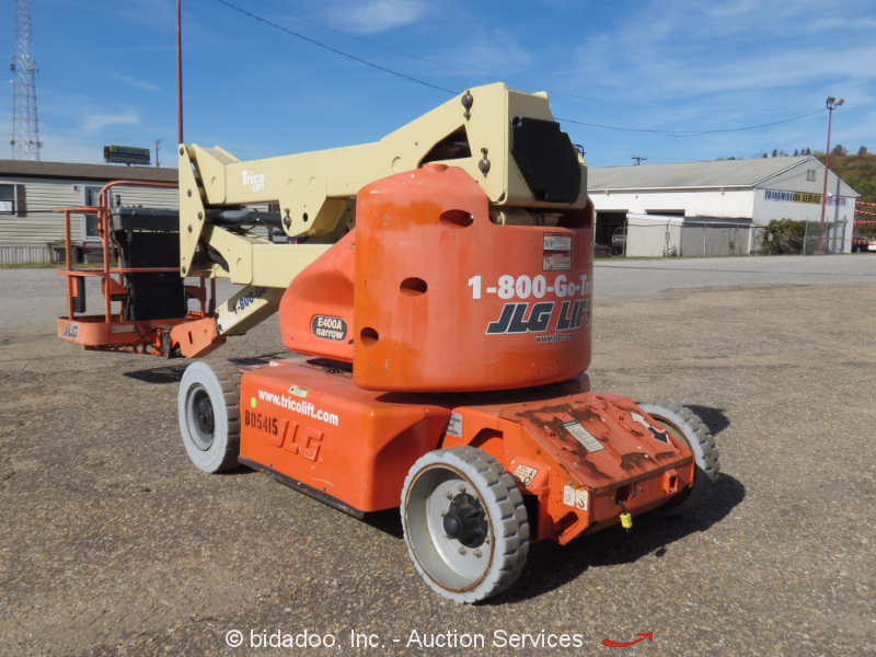 Jlg Hydraulic Pump : Jlg e a electric articulating boom lift man