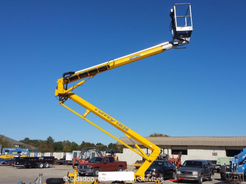 2009 Nifty Lift Tm50ge Df 50 Towable Boom Lift Man Aerial
