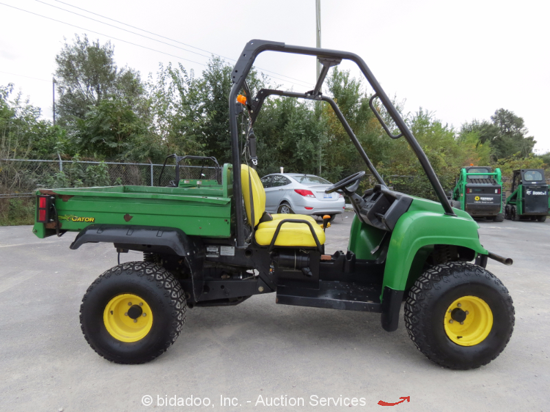 2010 john deere hpx gator diesel 4x4 utv utility cart vehicle dump bed atv 4wd ebay. Black Bedroom Furniture Sets. Home Design Ideas