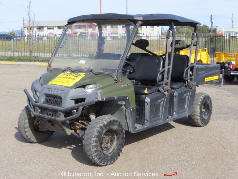 2012 Polaris Ranger Crew 500 Efi 4wd Utility Vehicle Utv