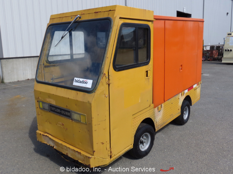 Taylor    Dunn    B248 Industrial 36V Electric    Utility       Cart