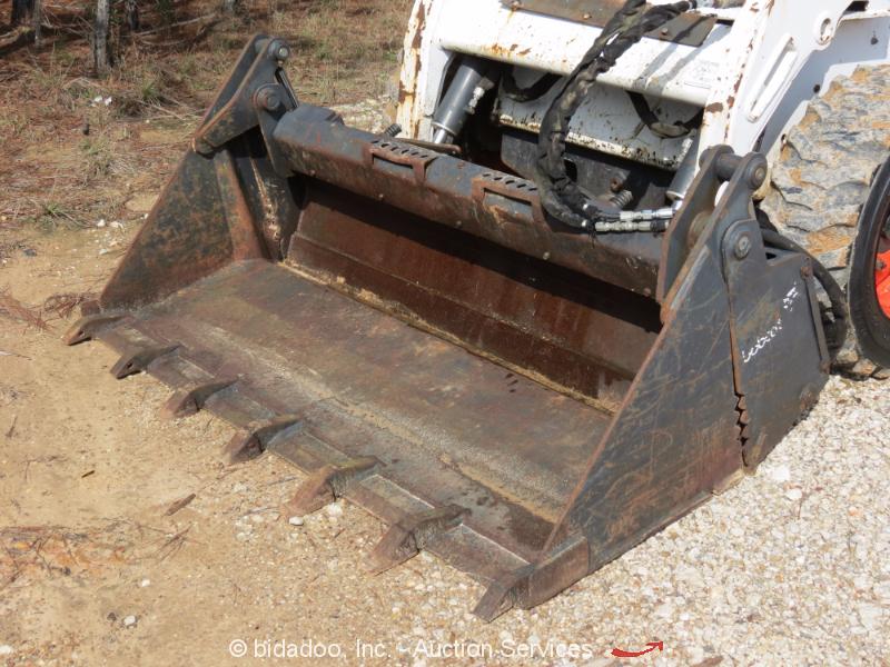 Skid Steer Drivetrain : Bobcat s skid steer wheel loader auxiliary