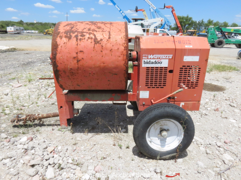 Multiquip Wm90sh8 9 Cu Ft Tow Behind Concrete Mixer