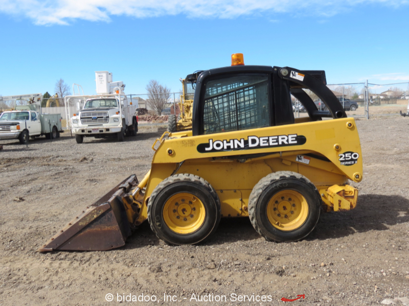 New Motors Erie Pa >> John Deere 250 Series II Skid Steer Wheel Loader Cab A/C ...