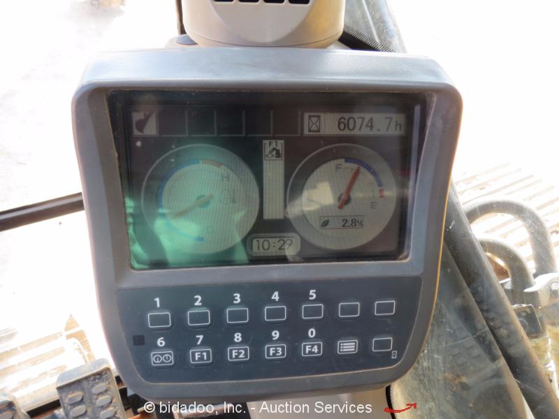 2010 John Deere 350d Lc Hydraulic Excavator Ac Cab Aux Hyd
