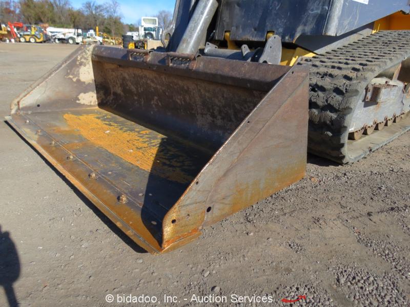 Skid Steer Drivetrain : Volvo mct c crawler skid steer rubber track loader
