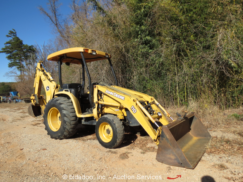 John Deere Backhoe Wheels : John deere backhoe wheel loader tractor aux