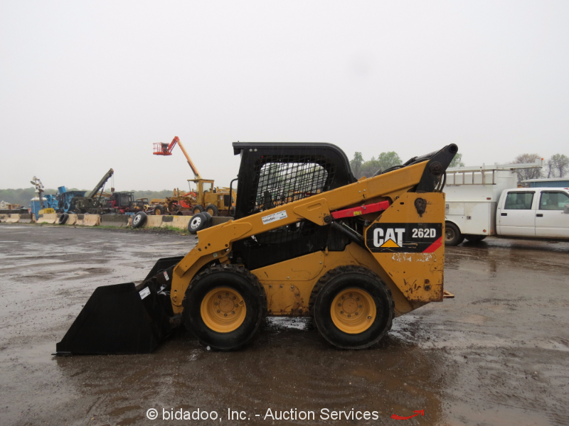 Skid Steer Drivetrain : Caterpillar d skid steer wheel loader tractor