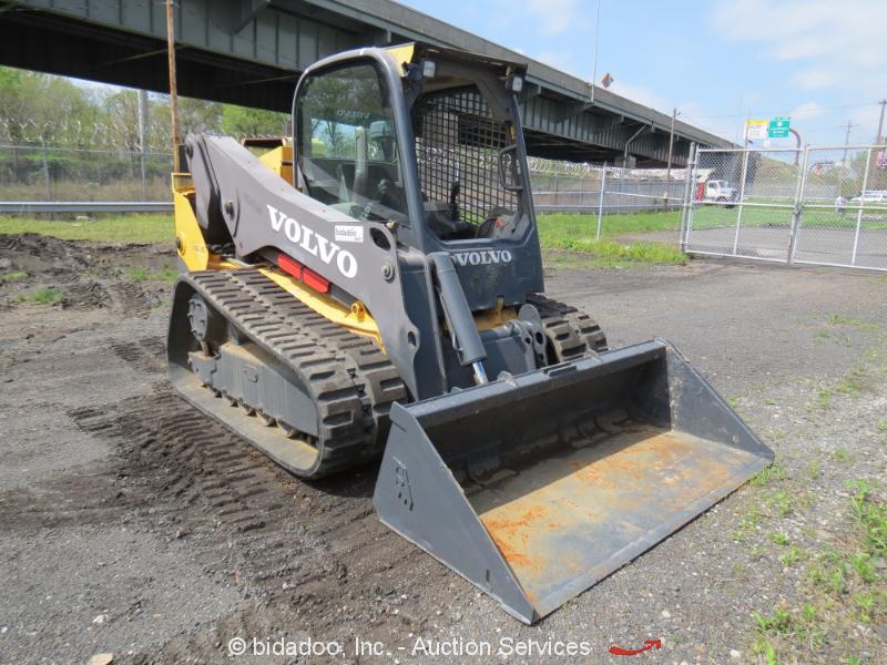 Volvo Skid Steer : Volvo mct c skid steer track loader crawler