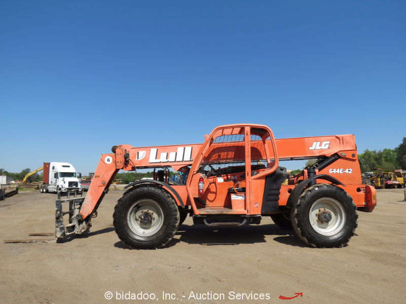 2006 lull jlg 644e-42 6k 42' telescopic reach forklift ... jlg g9 43a fuel filter jlg 644e 42 fuel filter