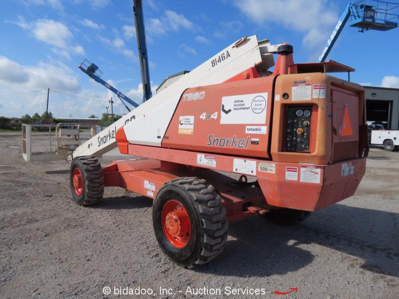 Snorkel Hydraulic Pump : Snorkel tb wd diesel telescopic boom lift man