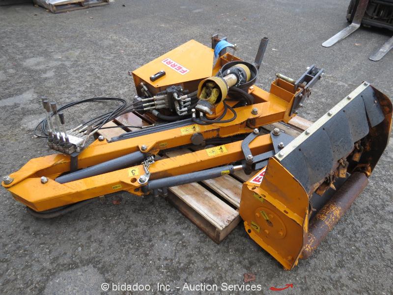 Ferri America Tme80 Ag Tractor Side Boom 32 Quot Mower Brush