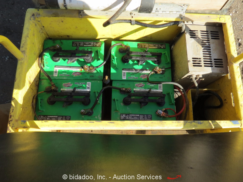 2007 Cushman Minute Miser E Industrial Warehouse 24v Electric Cart Bidadoo