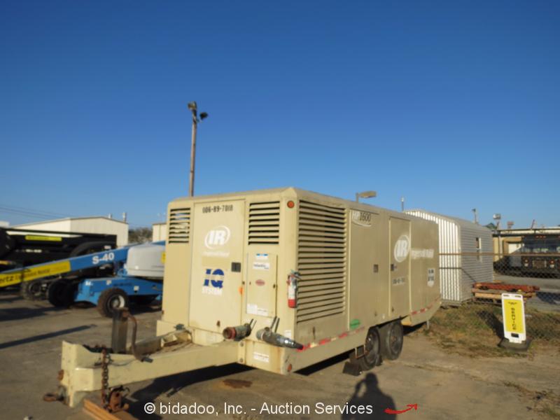 2007 Ingersoll Rand Hp1600 1600 Cfm Towable Air Compressor