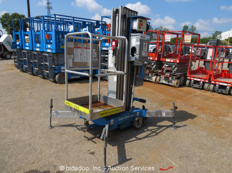 2011 Genie Awp 30s Mast Lift Portable Man Arial 30