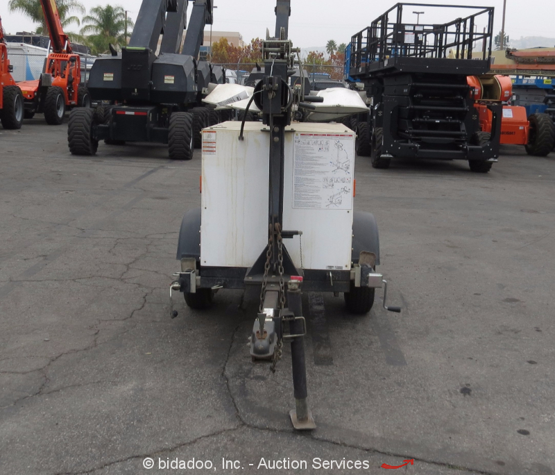 2010 Magnum MLT3060M Towable Light Tower Plant Mitsubishi