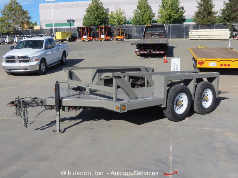 Hydraulic Drop Deck Trailer Blueprint : Jlg triple l  hydraulic drop deck equipment