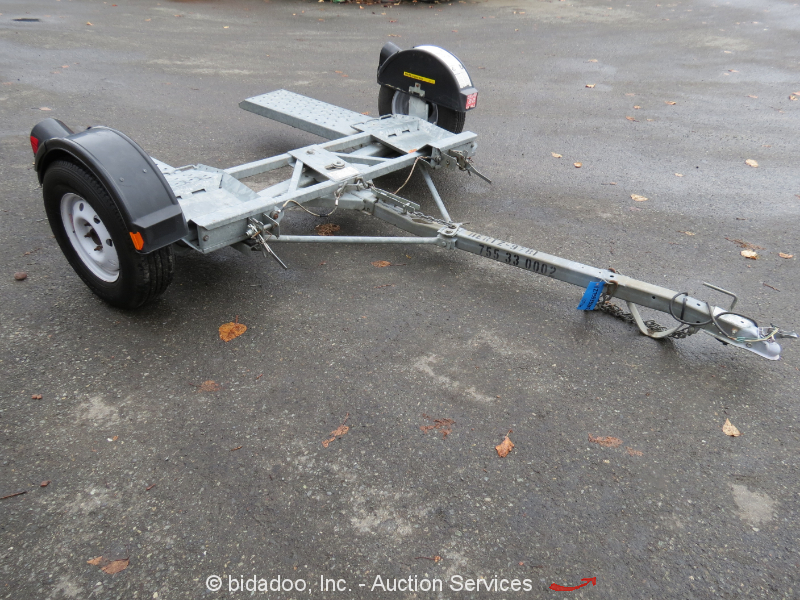 2010 Demco Gt300sb Car Tow Dolly Rent A Kaddy 2 Wheel
