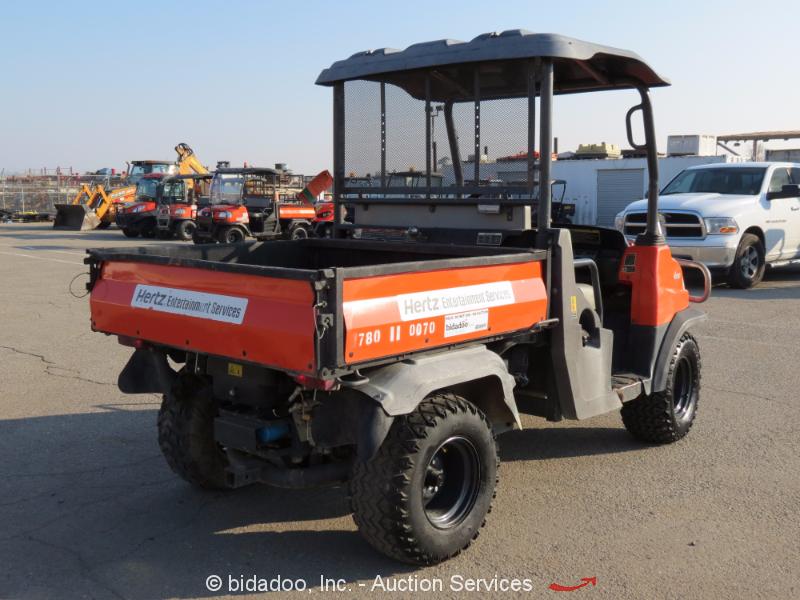 2011 Kubota Rtv900 : Kubota rtv wd utiity all terrain vehicle dump