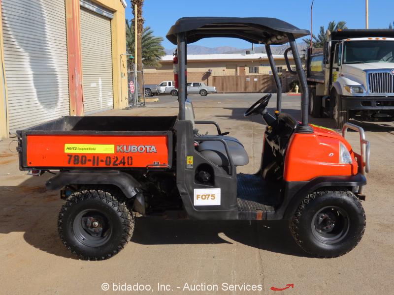 2011 Kubota RTV900XTGH Diesel 4WD Utiity RTV All Terrain ... |Kubota All Terrain Vehicles