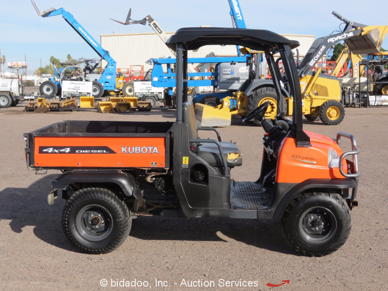2007 KUBOTA RTV900 3 Cyl. 4x4 Diesel All-Terrain Utility ... |Kubota All Terrain Vehicles