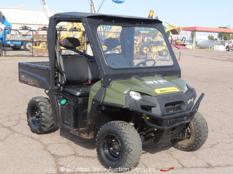 2012 Polaris Ranger 4wd Diesel Utility Vehicle Utv Yanmar
