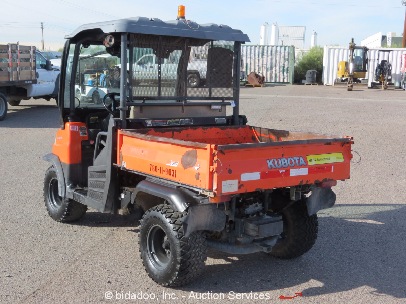 2009 Kubota RTV900 4WD Utiity All Terrain Vehicle 4x4 Dump ... |Kubota All Terrain Vehicles