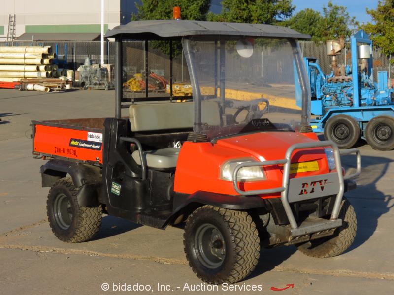 2012 Kubota RTV900 4WD Utiity All Terrain Vehicle 4x4 Dump ... |Kubota All Terrain Vehicles