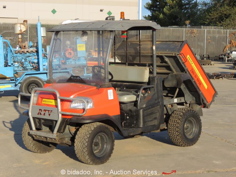 2012 Kubota RTV400ci Continuously Variable 4WD Utility All ... |Kubota All Terrain Vehicles
