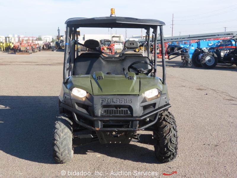 2012 Polaris Ranger Diesel 4wd Utility Vehicle Utv Yanmar