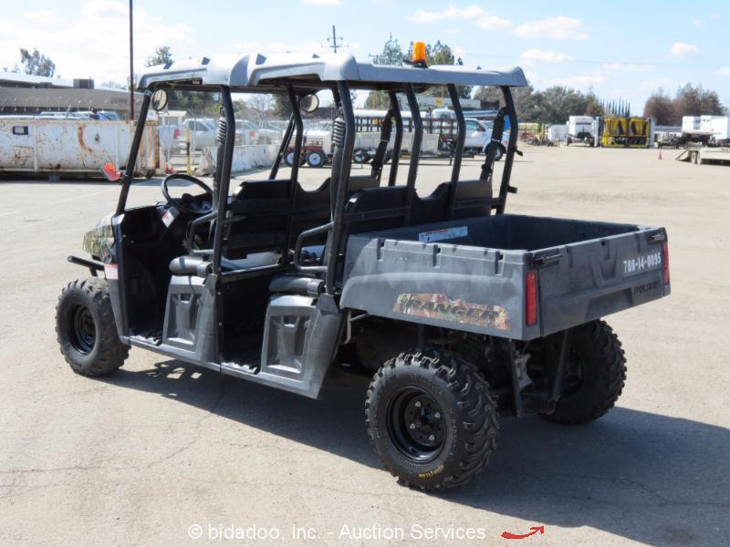 2013 Polaris Ranger Crew 500 Efi 4wd Utility Vehicle Utv